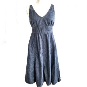 Jones New York Chambray denim dress 4P